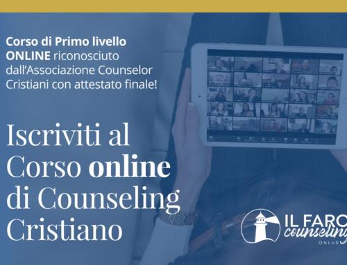 Corso di formazione online – Ottobre 2021